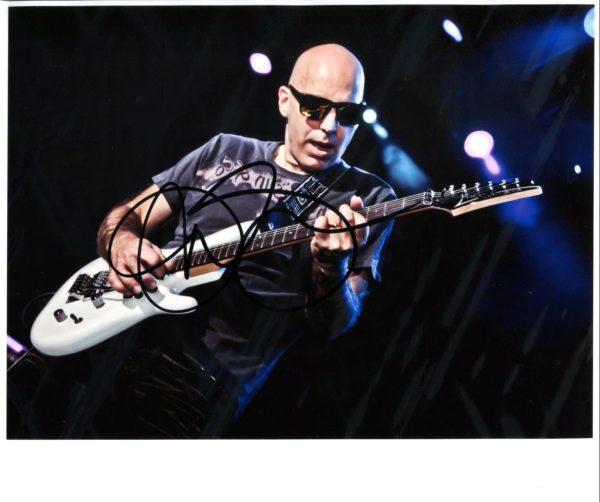 Joe Satriani Signed Photo