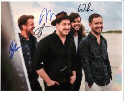 Mumford and Sons Signed Photo