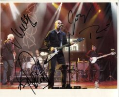 Wishbone Ash Signed Photo