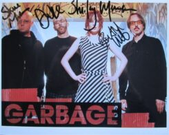 Garbage Signed Photo