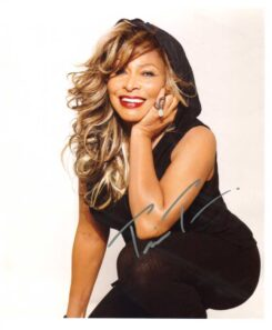 Tina Turner Signed Photo
