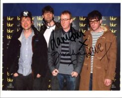 Blur Signed Photo
