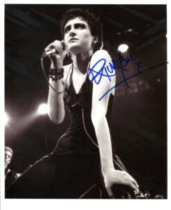 Siouxsie and the Banshees Signed Photo